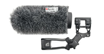 RYCOTE 033352 SOFTIE KIT Front, lyre mount, handle, 19-22mm hole, 180mm long