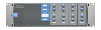 CLOUD Z4MK4 MIXER 2x microphone, 6x stereo, paging input, 4x mono zone out, 3U rackmount