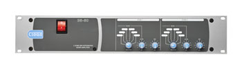 CLOUD 36/50 ZONER AMPLIFIER 3x 45W/4, 30W/8, 70/100V option, 2U rack mounting