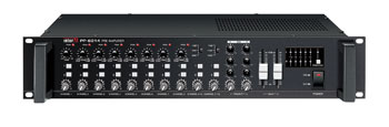 INTER-M PP6214 MIXER 8 microphone / line, 2 stereo inputs, 2 outputs, vox, 2U rackmount