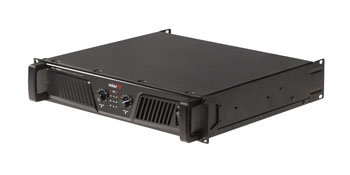 INTER-M V2-1000 POWER AMPLIFIER 2x 500W/2, balanced inputs, Speakon outputs, 2U