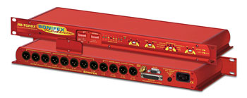 SONIFEX RB-TGHDX TONE GENERATOR Eight-channel HD, 8x analogue XLR and 8x AES XLR outputs