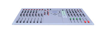 D&R AIRLAB DT BROADCAST MIXER 6x triple input EQ, 2x triple input non EQ, control, 2x Telco modules