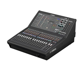 YAMAHA QL1 MIXER Digital, DANTE, 16 mono/8stereo inputs, 16mix/8 matrix busses, 16+2 faders