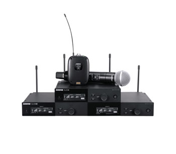 SHURE WIRELESS SYSTEMS - SLX-D Series - Digital