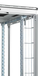 LANDE CABLE MANAGEMENT PANEL Vertical, for 800w ES362, ES462 rack, 47U, grey (pair)