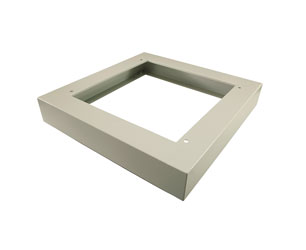 LANDE PLINTH KIT for ES455 rack, 600 wide, 600 deep, grey