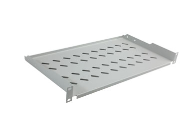 CANFORD ES9823125/G-L RACK SHELF Modem style, 1U, 250mm deep, grey