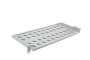 CANFORD ES9823120/G-L RACK SHELF Modem style, 1U, 200mm deep, grey