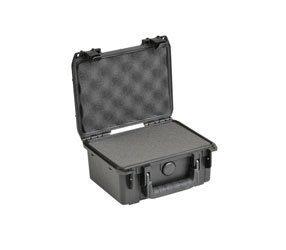 SKB 3I-0806-3B-C iSERIES UTILITY CASE Waterproof, internal dimensions 216x152x92mm, cubed foam