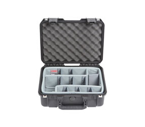 SKB 3I-1510-6DT iSERIES UTILITY CASE Waterproof, internal dim.381x267x149mm, Think Tank dividers