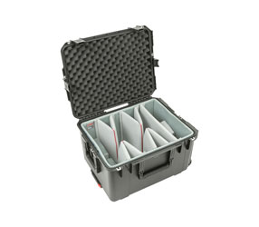 SKB 3I-2217-12DT iSERIES UTILITY CASE Waterproof, internal dim. 559x432x318mm, Think Tank dividers