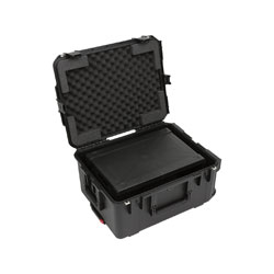 SKB 3i-2217M103U ISERIES FLY RACK CASE 3U, 19-inch, internal cage dimensions 330x483x133mm, black