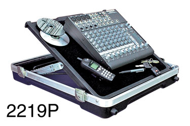 SKB-2219P MIXER CASE Pop-up, hook and loop surface