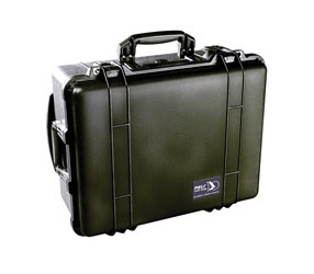 PELI 1560 PROTECTOR CASE With foam, internal dimensions 506x380x229mm, black