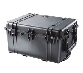 PELI 1630 PROTECTOR CASE With foam, internal dimensions 704x533x394mm, black