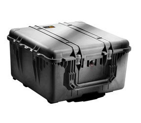 PELI 1640 PROTECTOR CASE With foam, internal dimensions 602x610x353mm, black