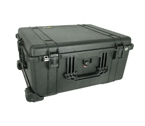 PELI 1610EU PROTECTOR CASE Empty, internal dimensions 551x422x268mm, black