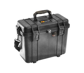 PELI 1430 PROTECTOR CASE With foam, internal dimensions 360x162x295mm, black