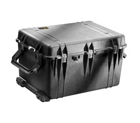 PELI 1660EU PROTECTOR CASE With foam, internal dimensions 716x502x448mm, black