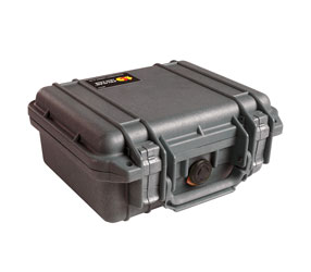 PELI 1200 PROTECTOR CASE With foam, internal dimensions 235x181x105mm, black