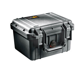 PELI 1300 PROTECTOR CASE With foam, internal dimensions 233x178x155mm, black