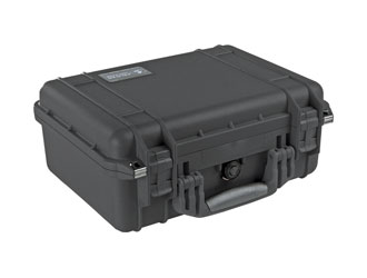 PELI 1450EU PROTECTOR CASE With foam, internal dimensions 374x260x154mm, black