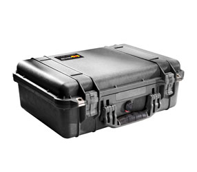 PELI 1520EU PROTECTOR CASE With foam, internal dimensions 449x318x171mm, black