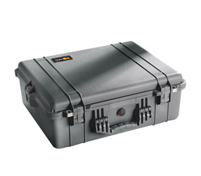 PELI 1600EU PROTECTOR CASE With foam, internal dimensions 546x420x202mm, black