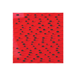 ARTNOVION SAHARA W AE ABSORBER Fire rated (FR++), 595x595mm, rouge, pack of 6