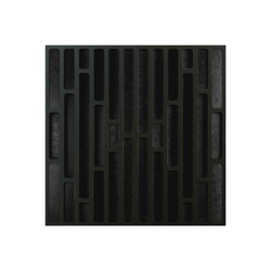 ARTNOVION LOGAN AE DIFFUSER Fire rated (FR), 595x595mm, noir + noir, each
