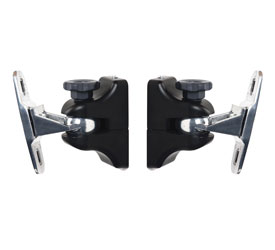 B-TECH BT332/B LOUDSPEAKER MOUNT Wall, up to 5kg, home cinema, tilt, swivel, black pair
