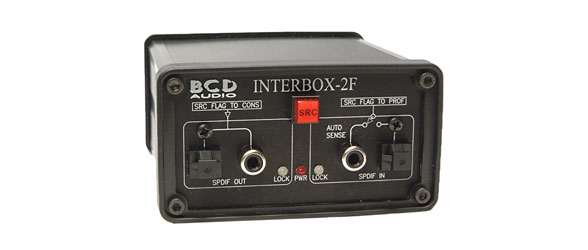 BCD ITB-2F INTERBOX FORMAT CONVERTER Audio, bi-directional, 1x S/PDIF / Toslink to and from AES