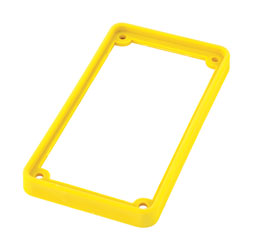 TECPRO Spare bezel for BP1 series beltpack, yellow