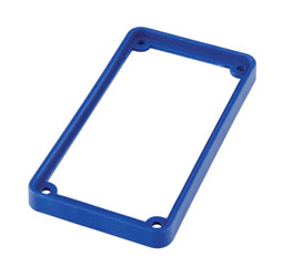 TECPRO Spare bezel for BP1 series beltpack, blue