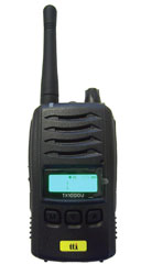 TTI TX1000U PMR446 RADIO TRANSCEIVER Licence free, with battery, charger, belt-clip