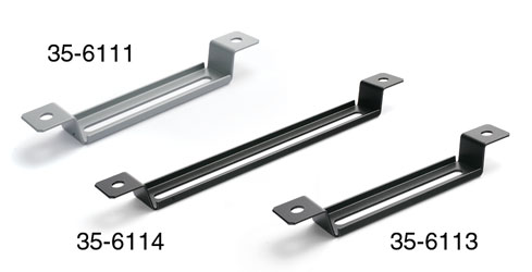 CABLE TRAY FIXING BRACKET For 105mm plastic cable tray, grey