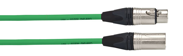 CANFORD CABLE 3FXX-3MXX-HST-1m, Green