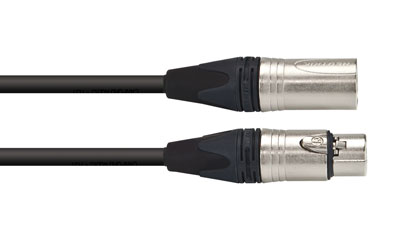 CANFORD CABLE 3FXX-3MXX-HST-R-1m, Black