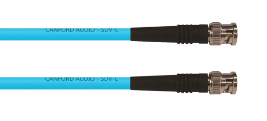 CANFORD CABLE BNC-BNC-SDV-L-5m, Turquoise