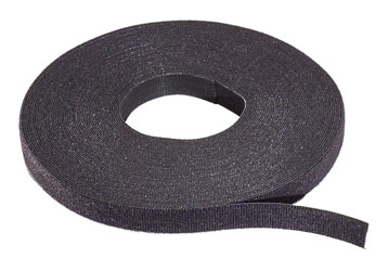 RIP-TIE WrapStrap 1.5 inch, black (15 feet roll)