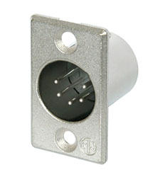 NEUTRIK NC5MP XLR Male panel