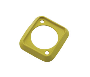 NEUTRIK SCDP-4 SEALING GASKET For D-series connectors, yellow
