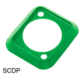 NEUTRIK SCDP-5 SEALING GASKET For D-series connectors, green