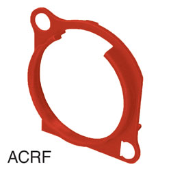 NEUTRIK ACRF-2 XLR Escutcheon for A- and BA-series, red