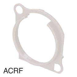 NEUTRIK ACRF-9 XLR Escutcheon for A- and BA-series, white