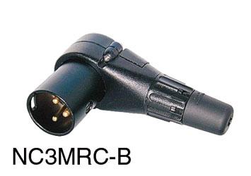 Neutrik Xlr Nc3mrc B Male Right Angle