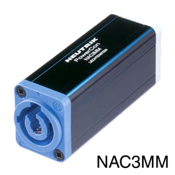 NEUTRIK NAC3MM-1 POWERCON In-line cable coupler, 20 Amp