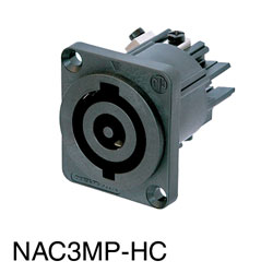 NEUTRIK NAC3MP-HC POWERCON Mains input panel connector, 32 Amp