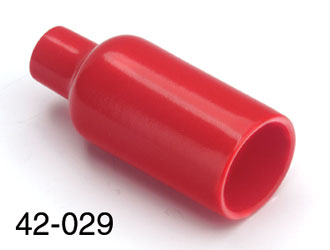 CANFORD SCDR-NAC Insulating cover for NAC3MP panel connectors, red